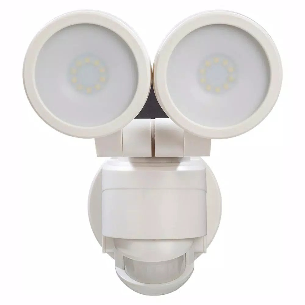 Image Is Loading Defiant 180 Degree White Motion Activated Outdoor Led