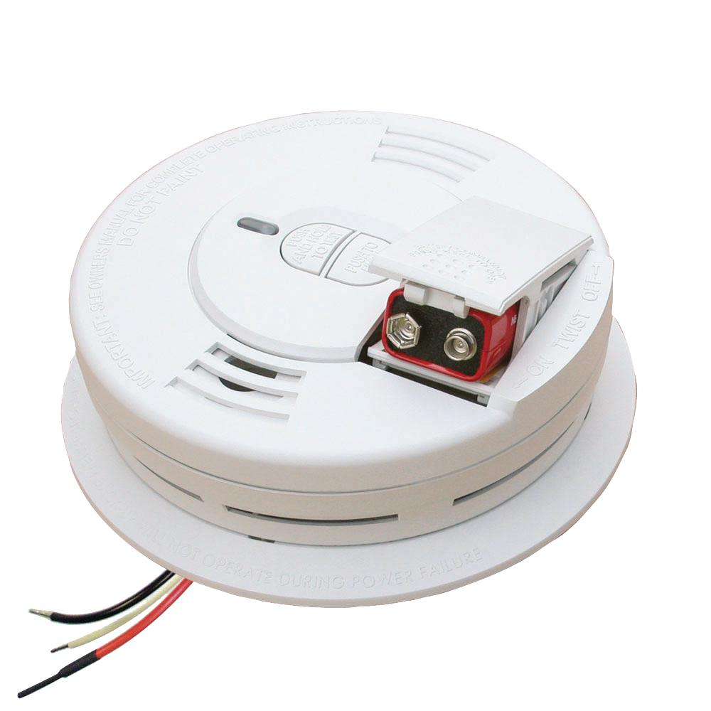Kidde i12060 Hardwired Smoke Alarm with Front Load Battery B